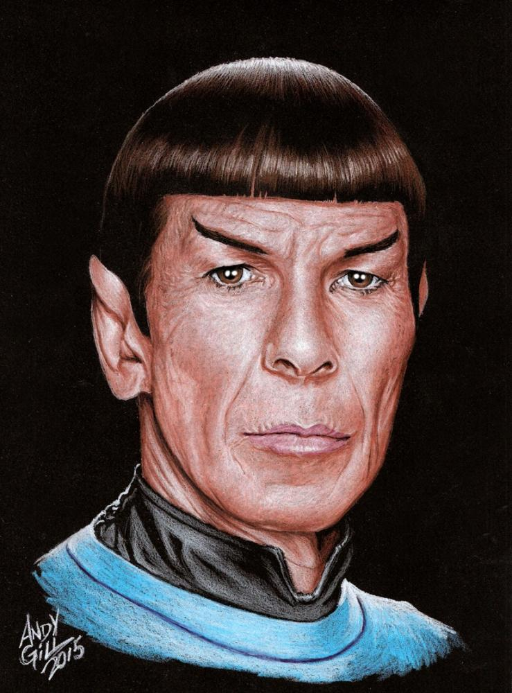 Leonard Nimoy by AndyGill